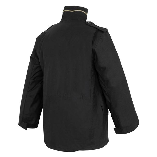 Tru-Spec M-65 Field Jacket with Liner Black