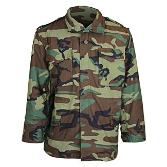 Tru-Spec M-65 Field Jacket with Liner Woodland