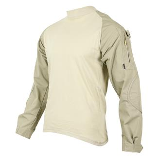 Tru-Spec Poly / Cotton Ripstop Combat Shirts Khaki / Sand