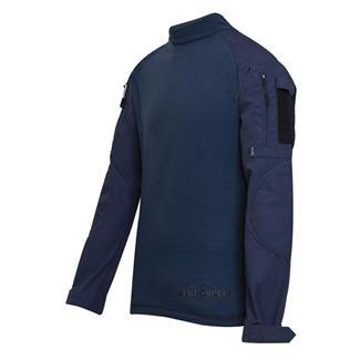 TRU-SPEC Poly / Cotton Ripstop Combat Shirts Navy