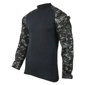 TRU-SPEC Poly / Cotton Ripstop Combat Shirts Urban Digital / Black