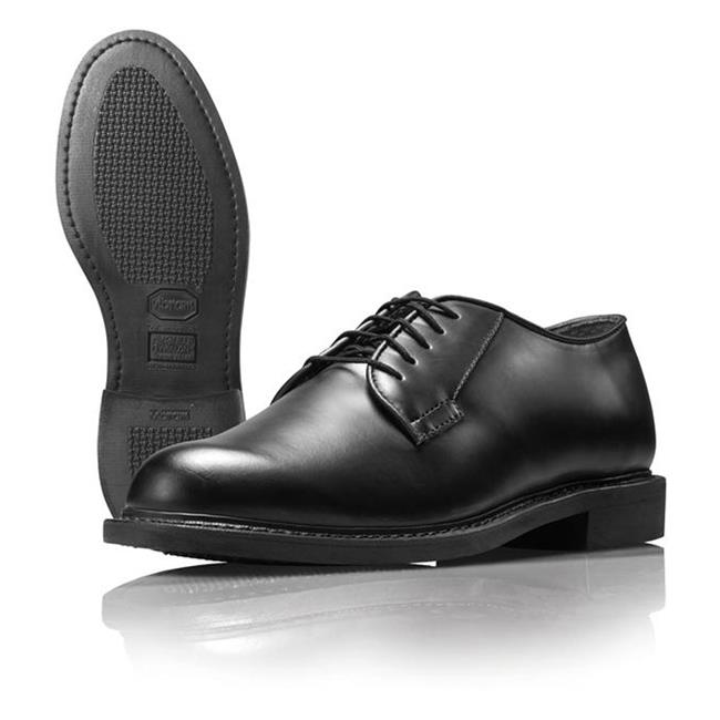 Wellco Leather Dress Oxford Black