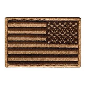 Blackhawk American Flag Reversed Patch Subdued Tan / Black