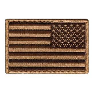 Blackhawk American Flag Reversed Patch Subdued Tan / Black