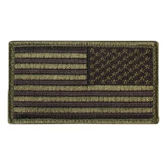 Blackhawk American Flag Reversed Patch Subdued Olive Drab