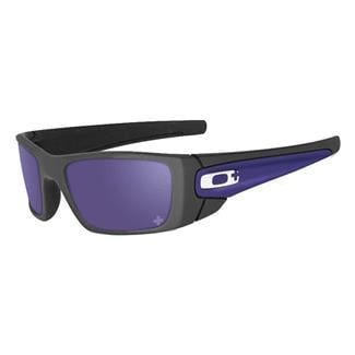 Oakley Infinite Hero Fuel Cell Violet Iridium Carbon