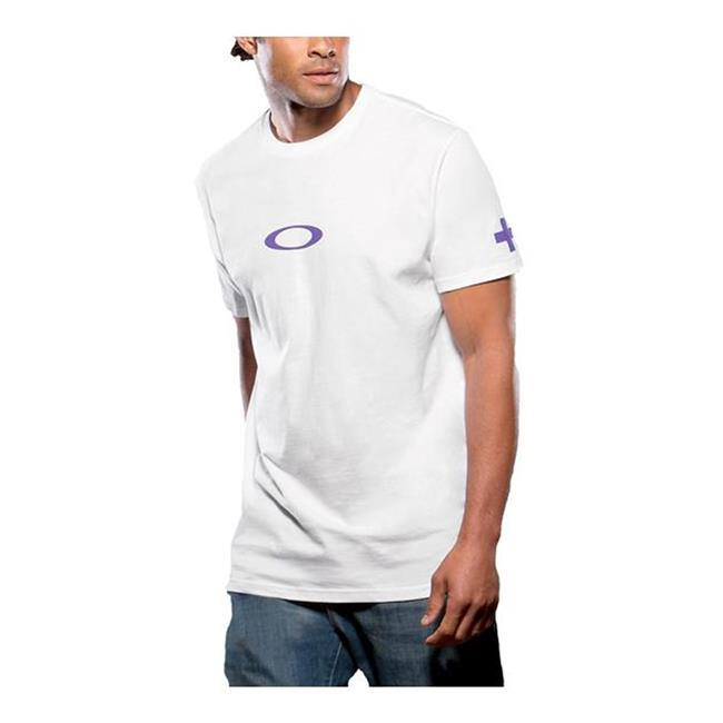 Oakley Hero Ellipse Tee White