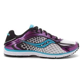 Saucony Type A5 White / Purple / Black