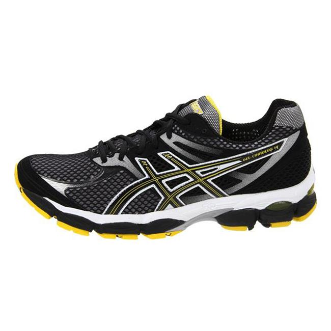 ASICS GEL-Cumulus 14 Onyx / Black / Yellow
