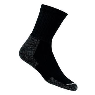 Thorlos Thick Cushion Hiking Crew Socks Black