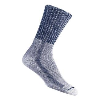 Thorlos Light Hiking Crew Socks Navy / Heather