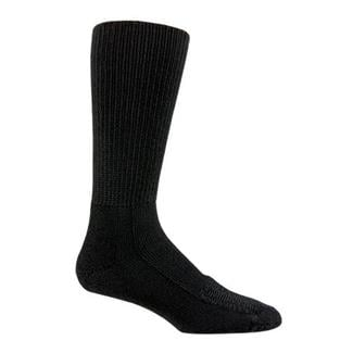 Thorlos Safety Toe Boot Crew Socks Black