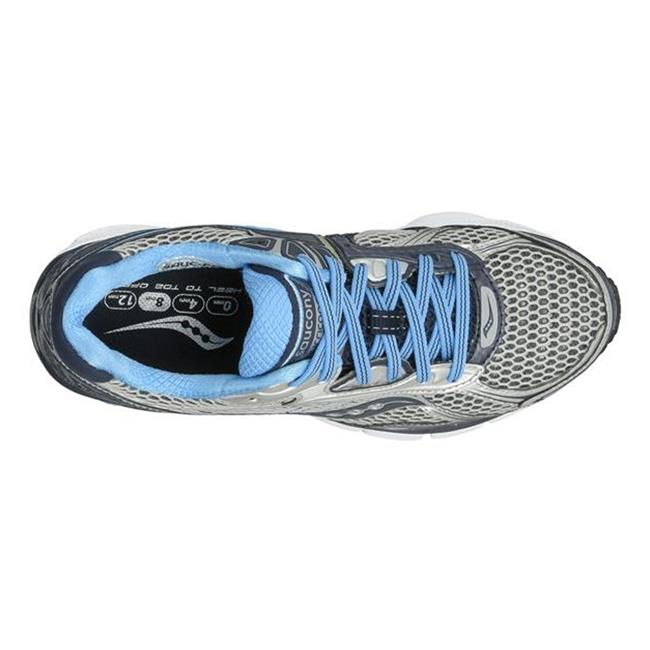 Saucony Hurricane 14 Silver / Navy / Blue