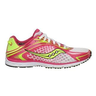 Saucony Type A5 White / Pink / Citron