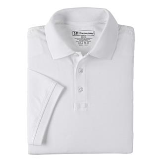 5.11 Tactical Polos White