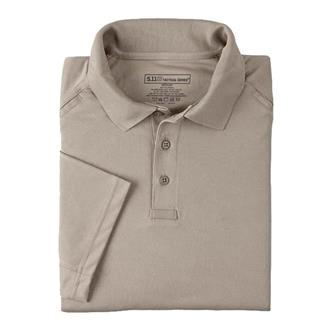 5.11 Performance Polos Silver Tan