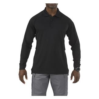 5.11 Long Sleeve Performance Polos Black