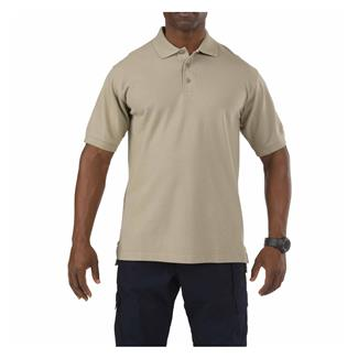 5.11 Professional Polos Silver Tan