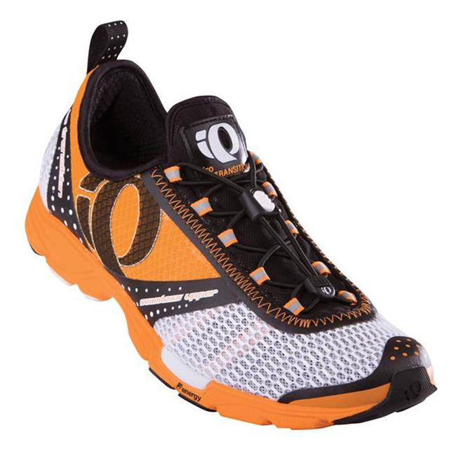 Pearl Izumi IsoTransition White / Safety Orange