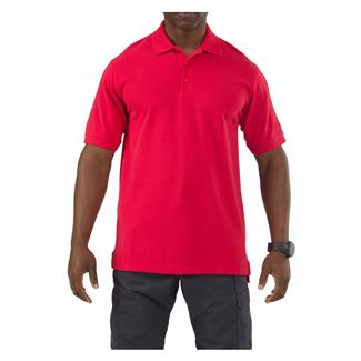 5.11 Professional Polos Range Red