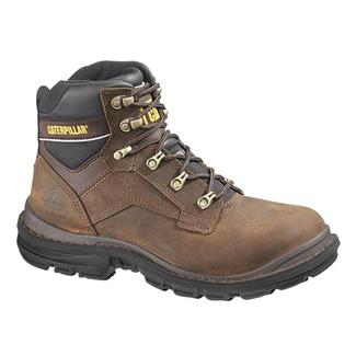"Cat Footwear Generator 6"" ST Dark Brown"