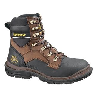 "Cat Footwear Generator 8"" Tough 400G ST WP Dark Brown"