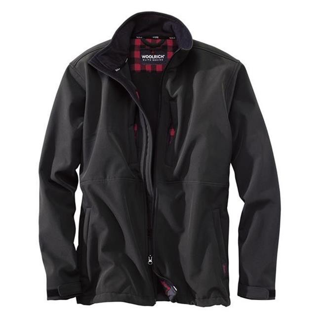 Woolrich Elite Softshell Jackets Black