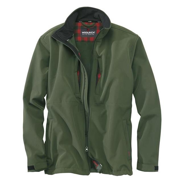Woolrich Elite Softshell Jackets Hunter Green
