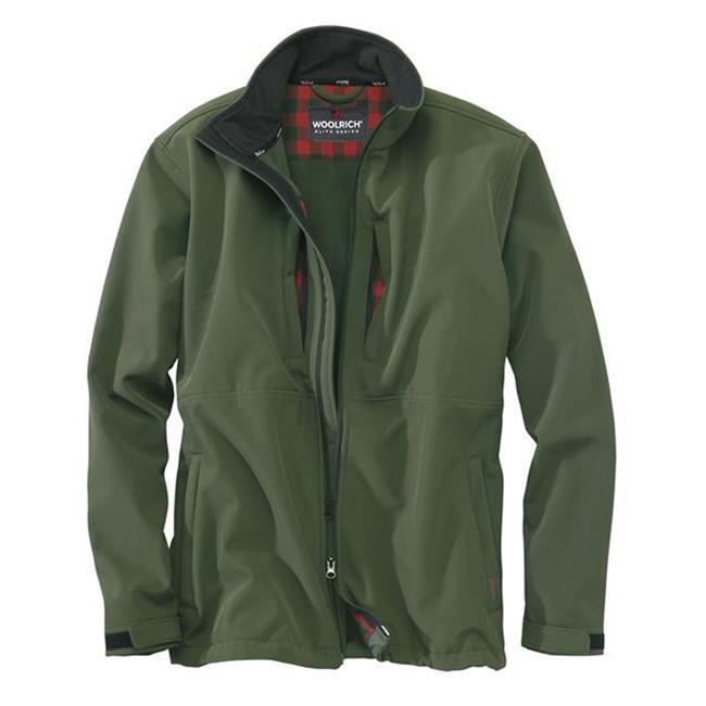 Woolrich Elite Softshell Jackets Hunter Green
