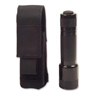 Elite Survival Systems Velcro Attach Flashlight Pouch Black