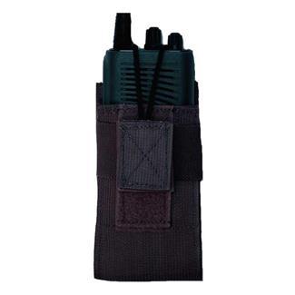 Elite Survival Systems Velcro Attach Radio Pouch Black