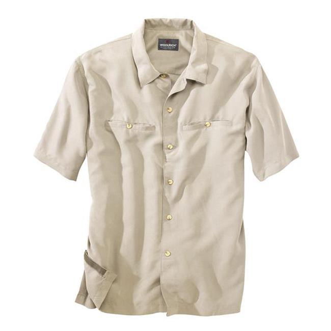 Woolrich Poly / Modal Elite CCW Shirts British Tan