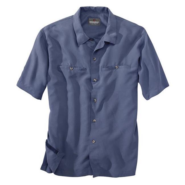 Woolrich Poly / Modal Elite CCW Shirts Navy