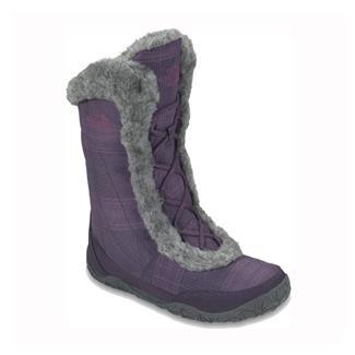 The North Face Nuptse Fur IV Baroque Purple / Graphite Gray