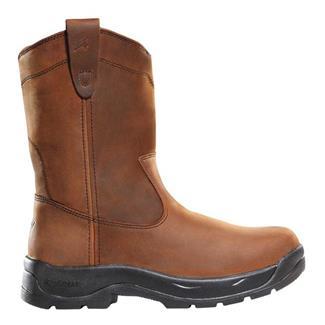 "LaCrosse 11"" Quad Comfort Wellington Brown"