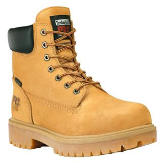 "Timberland PRO 6"" Direct Attach Leather ST WP Waterbuck Wheat"