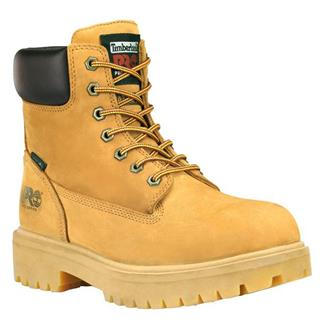 "Timberland PRO 6"" Direct Attach Leather WP Waterbuck Wheat"