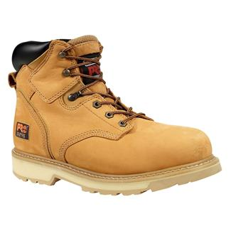 "Timberland PRO 6"" Pit Boss Leather Nubuck Wheat"