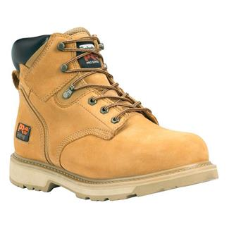 "Timberland PRO 6"" Pit Boss Leather ST Nubuck Wheat"