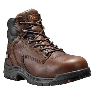 "Timberland PRO 6"" TiTAN CT Dark Brown"