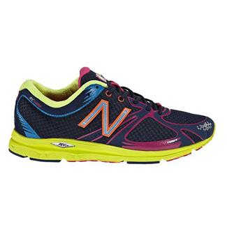 New Balance 1400 Neon Yellow / Navy & Purple
