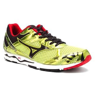 Mizuno Wave Musha 4 Lime Punch / Anthracite / Chinese Red
