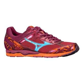 Mizuno Wave Musha 4 Ember / Fluorite / Red Plum