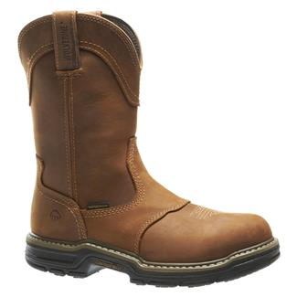 "Wolverine 10"" Anthem Wellington WP Brown"