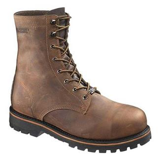 "Wolverine 8"" Plainsman ST Brown"