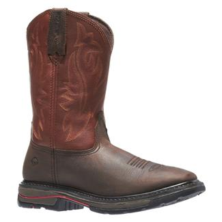"Wolverine 10"" Javelina Wellington Dark Brown / Ox Blood"