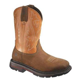 "Wolverine 10"" Javelina Wellington ST Dark Brown / Orange"