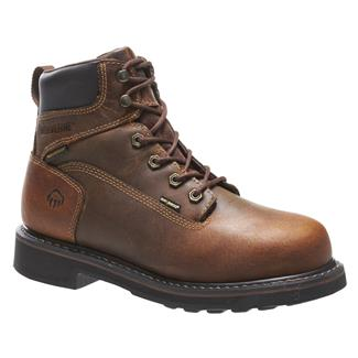 "Wolverine 6"" Brek Durashocks WP Brown"