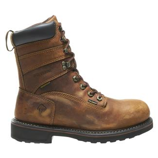 "Wolverine 8"" Brek Durashocks WP Brown"