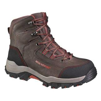 "Wolverine 6"" Bucklin Peakflex Hiker CT WP Brown"